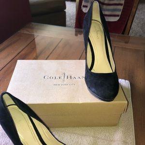 Shoes - Cole haan size 8.5 suede pumps